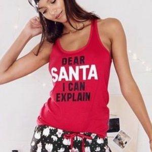NWT Victoria's Secret Dear Santa 🎅 I can explain